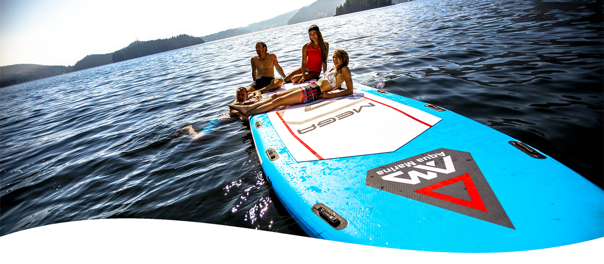 Stand Up Paddleboard SUP Aqua Romania